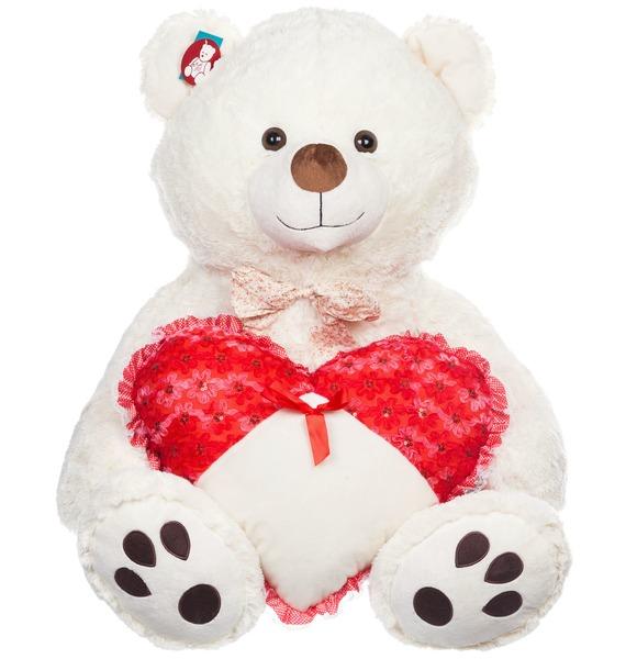 Мягкая игрушка Медведь Богдан (120 см) мягкая игрушка медведь пузатый большой нижегородская игрушка см 377 5