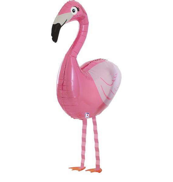 "Ходячая Фигура ""Розовый фламинго"" (97 см)"