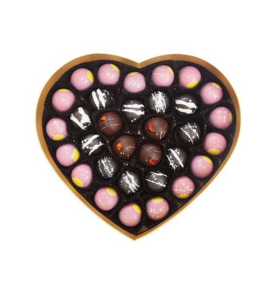 """цена Конфеты ручной работы из бельгийского шоколада """"В унисон"""" онлайн в 2017 году"""