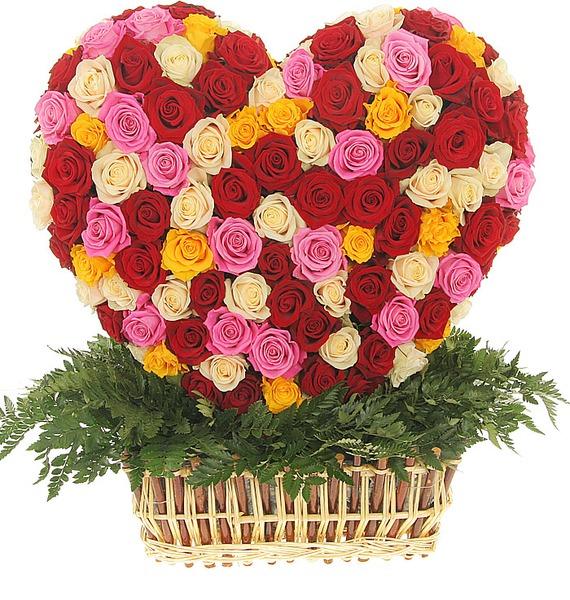 Композиция Палитра любви (251 роза) 2sd1816 d1816 to 251