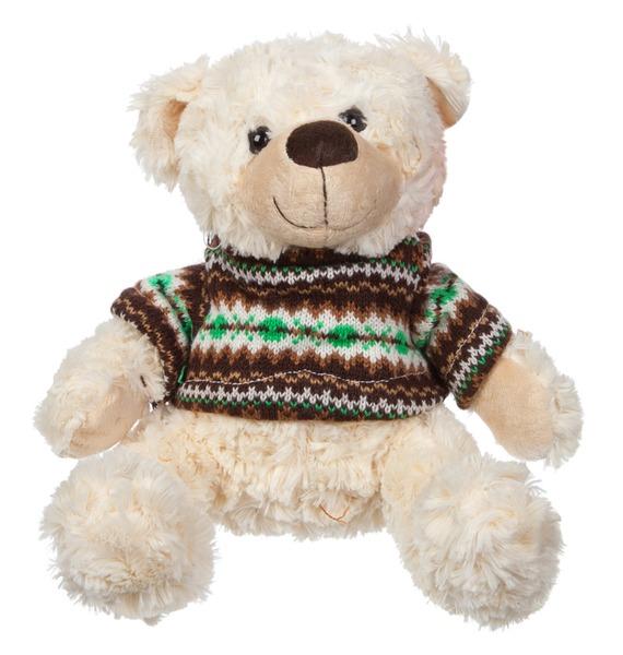 """Мягкая игрушка """"Мишка Барри в свитере"""" (23 см)"""
