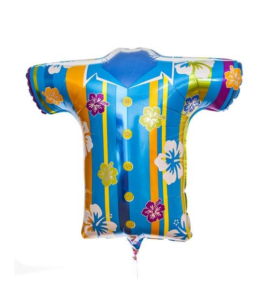Воздушный шар Гавайская рубашка воздушный шар fo 10pcs lot