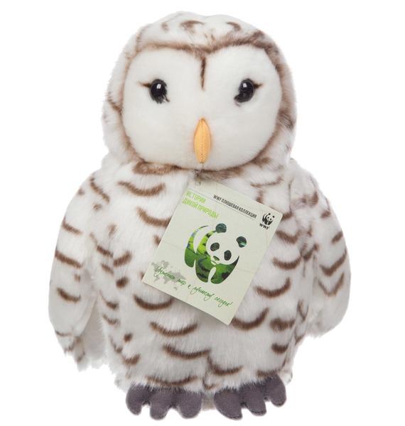 Мягкая игрушка Полярная сова WWF (22 см) сонная сова игрушка вязанная