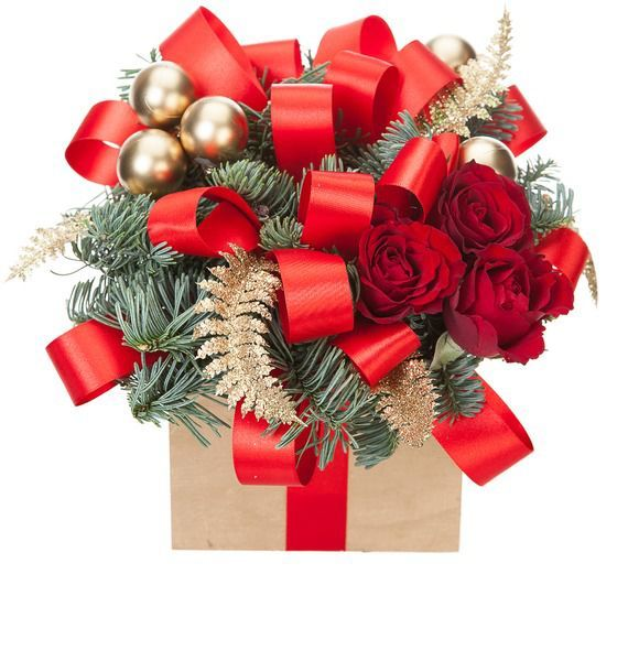 Композиция Новогодний подарок композиция летний подарок