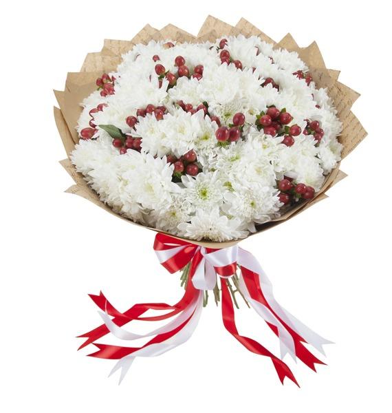 Букет Ягодный пломбир kaemingk ягодный букет 30х40 см декоративная корзинка 685146