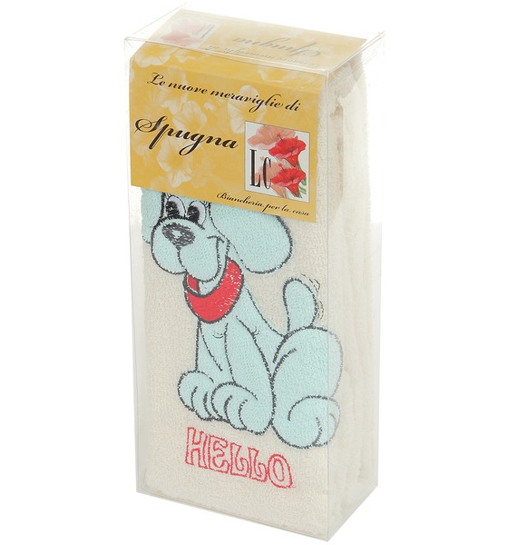 Комплект детских полотенец Голубой щенок – фото № 2