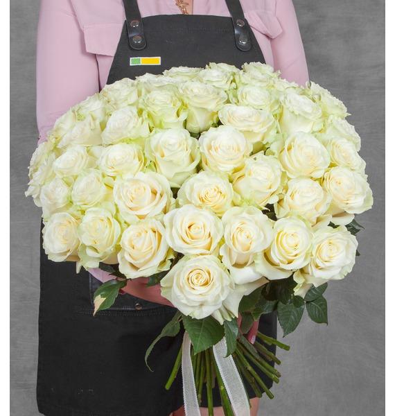 Букет эквадорских роз Mondial (25, 51, 75 или 101) цена