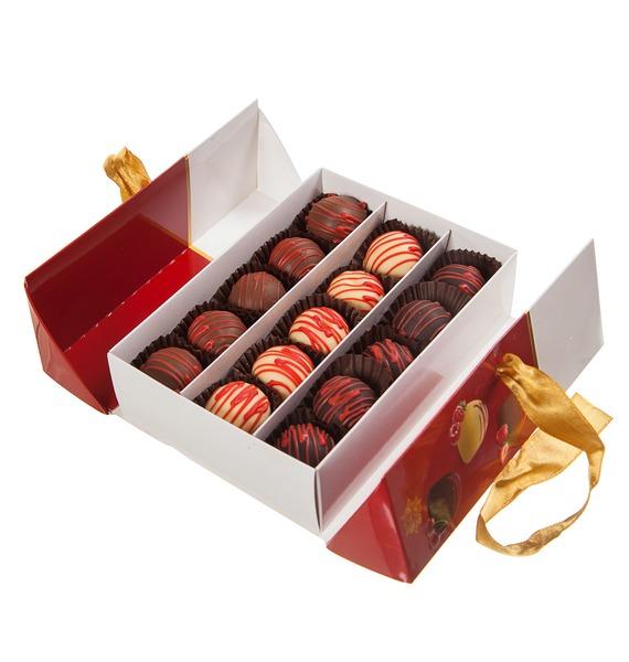 Набор шоколадных конфет Фруктовый сундучок – фото № 1