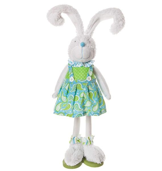 """Мягкая игрушка """"Зайка в платье"""" (35 см) sima land мягкая игрушка зайка гаврош 30 см"""