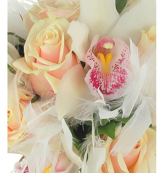 Букет невесты Лебединая верность – фото № 5