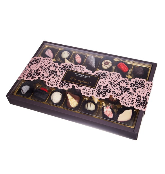 Конфеты ручной работы из бельгийского шоколада Плетение 28