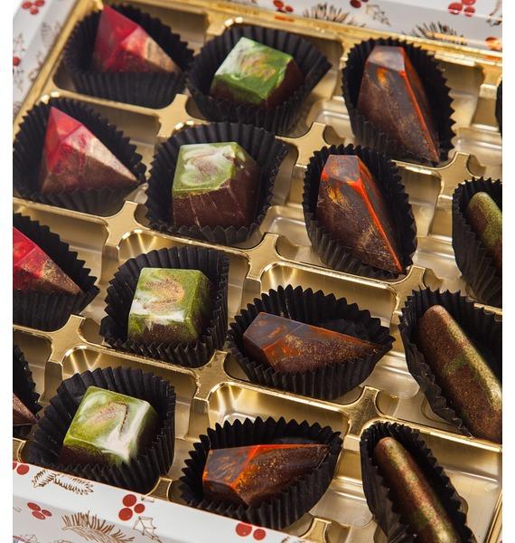 Конфеты ручной работы из бельгийского шоколада Очарование зимы – фото № 4