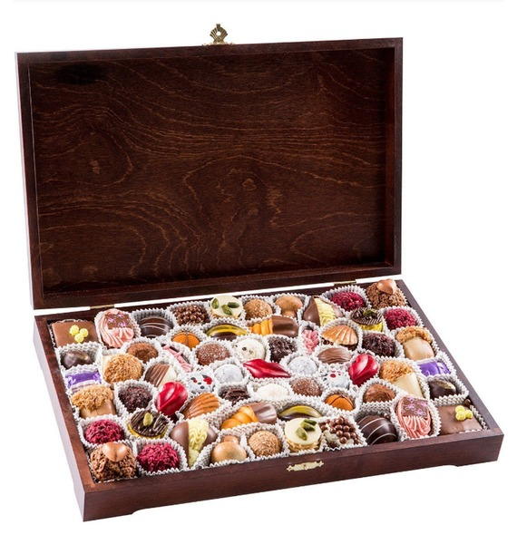 Конфеты ручной работы из бельгийского шоколада Миллениум