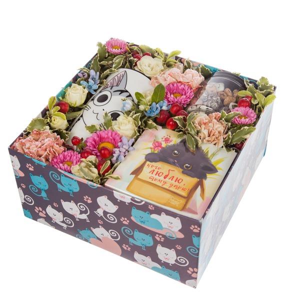 Подарочная коробка Любимой кошечке – фото № 4