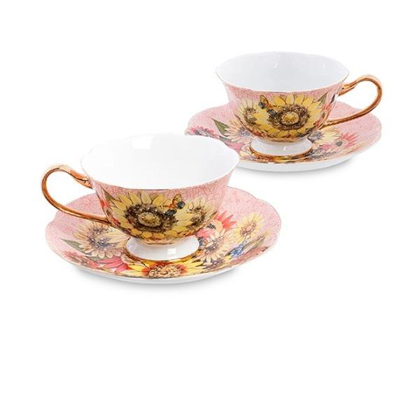 """Чайный набор на 2 персоны """"Дольче Вита"""" (Pavone) jp 53 2 фигурка выпускник pavone 1000258"""