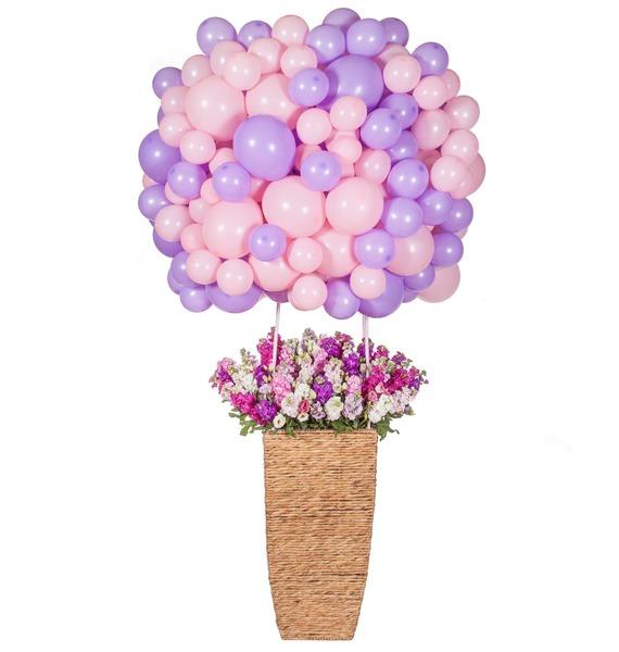 Композиция Воздушный шар – фото № 2