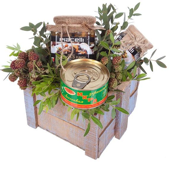 Подарочное кашпо Лакомства подарочное кашпо запах черемухи