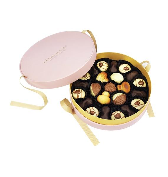 Конфеты ручной работы из бельгийского шоколада Уистреам merci набор конфет ассорти из шоколада с миндалем 250 г
