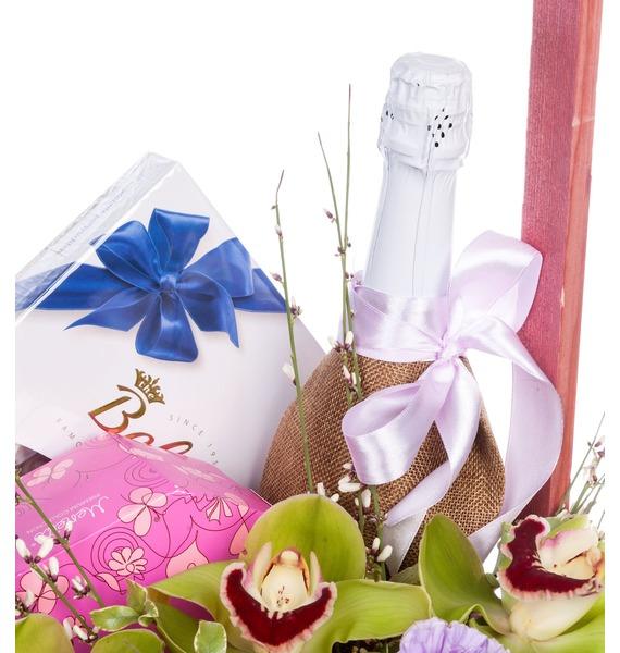 Подарочная корзина Важный повод (Игристое вино в подарок) – фото № 5