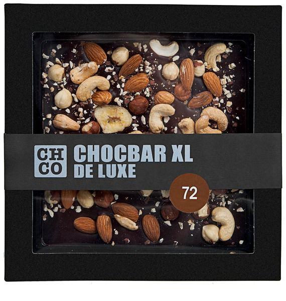 Молочный шоколад CHCO CHOCBAR XL Орехи молочный шоколад chco chocbar xl орехи