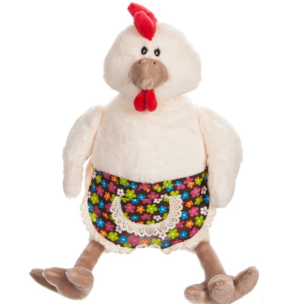 Мягкая игрушка Курочка (28 см) – фото № 1