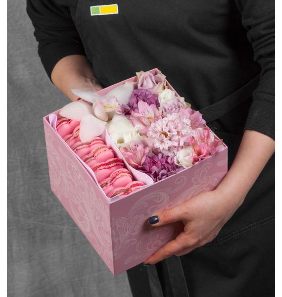 "Подарочная коробка ""Розовое облако"""