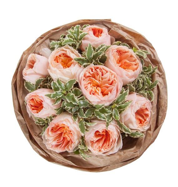 Букет из пионовидных роз Мгновение – фото № 4