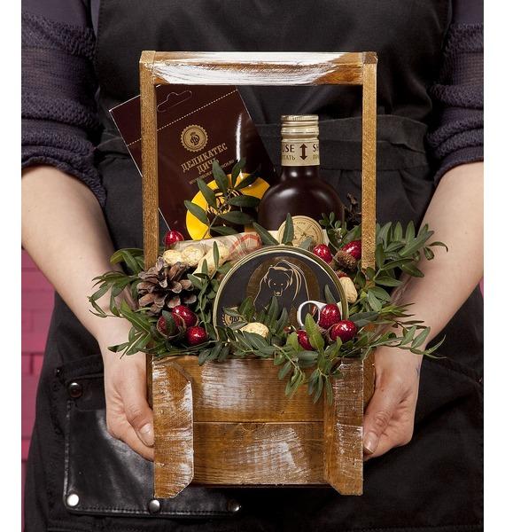 Подарочное кашпо Дикий лес подарочное кашпо банька