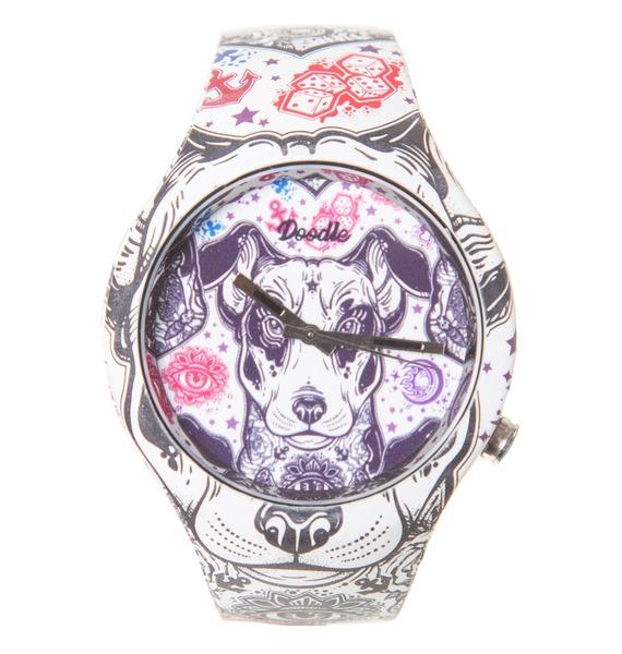 Часы Doodle Терьер
