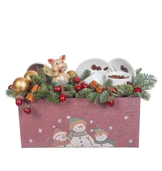 Подарочная коробка Зимний кофе – фото № 4
