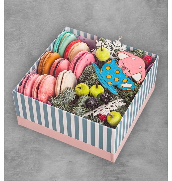 Подарочная коробка Сладкое наслаждение коробка подарочная совы на белом 19 12 5 8см картон kairui 13 kairui hz 907m