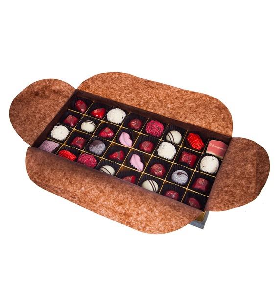 Конфеты ручной работы из бельгийского шоколада Рубин 32