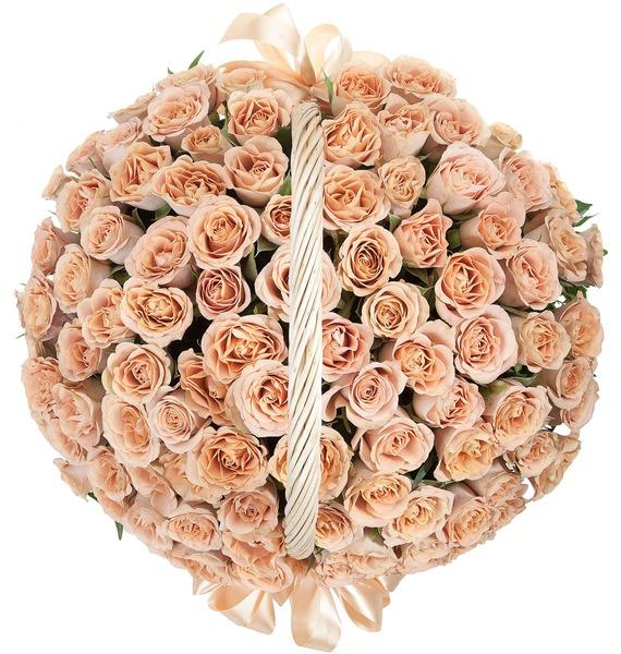 Композиция Cappucino (101, 201, 301 роза) – фото № 4