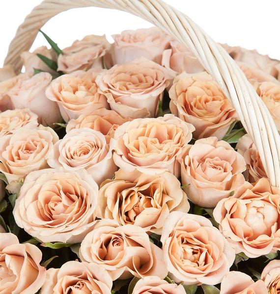 Композиция Cappucino (101, 201, 301 роза) – фото № 3