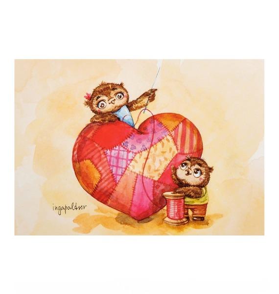 Фото - Почтовая открытка Крепкой семье - большая любовь почтовая открытка tenerife garachico испания конец хх века