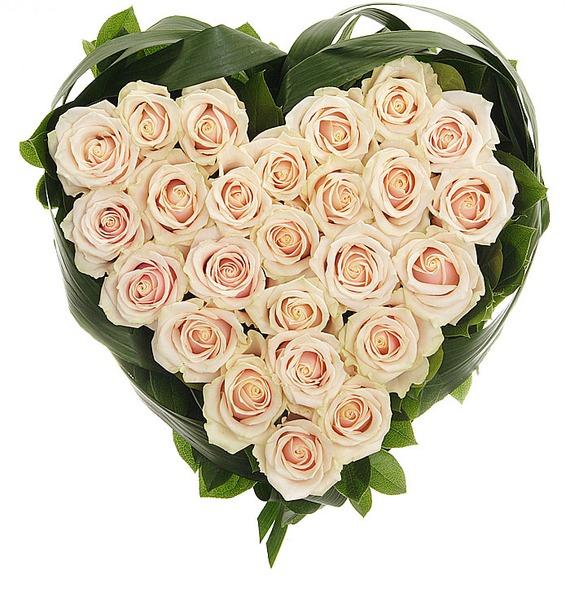 Композиция Нежно любимой (25 или 51 роза)