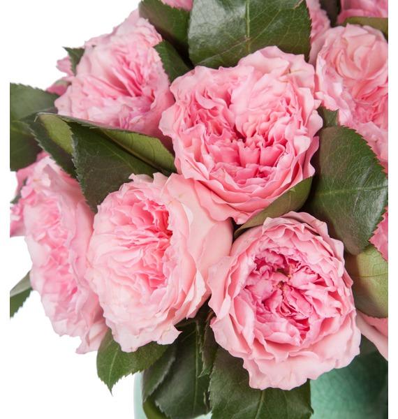 Композиция из пионовидных роз Mayras Rose – фото № 2