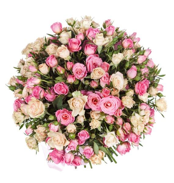 Букет Тихая гавань (25, 35, 51 роза) – фото № 4