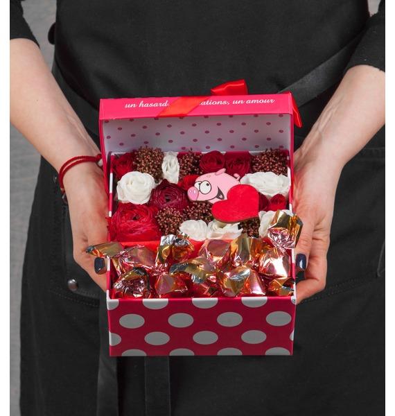 Подарочная коробка Алая заря даша пар алая колыбель