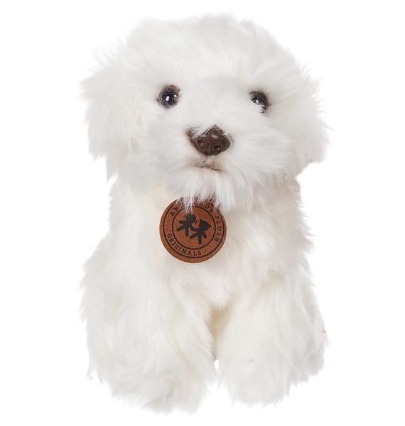 Фото - Мягкая игрушка Мальтийская болонка (18 см) мягкая игрушка мульти пульти 221606 221606