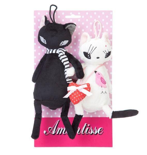 Мягкая игрушка Коты Амантис trousselier мягкая игрушка зайка с музыкой розовый 25см trousselier page 1