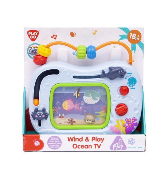 """Развивающая музыкальная детская игрушка """"Океан"""""""