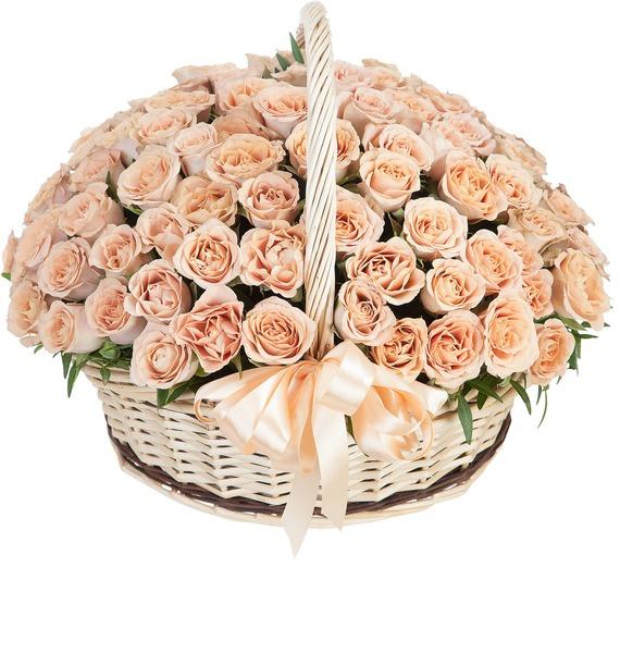Композиция Cappucino (101, 201, 301 роза) – фото № 2