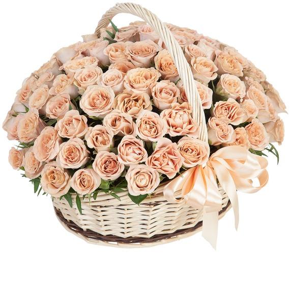 Композиция Cappucino (101, 201, 301 роза) композиция cappucino 101 201 301 роза