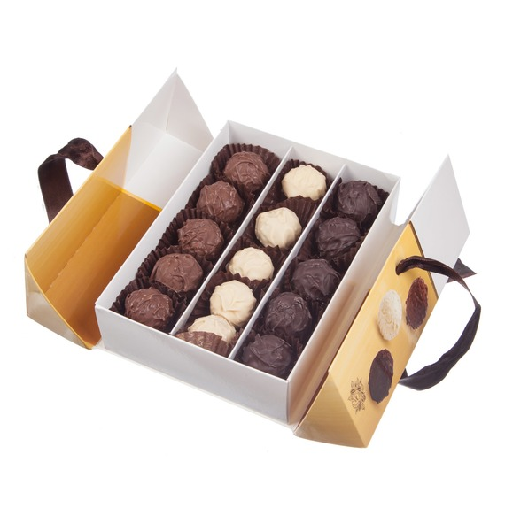 """цена Набор шоколадных конфет """"Шоколадный сундучок"""""""