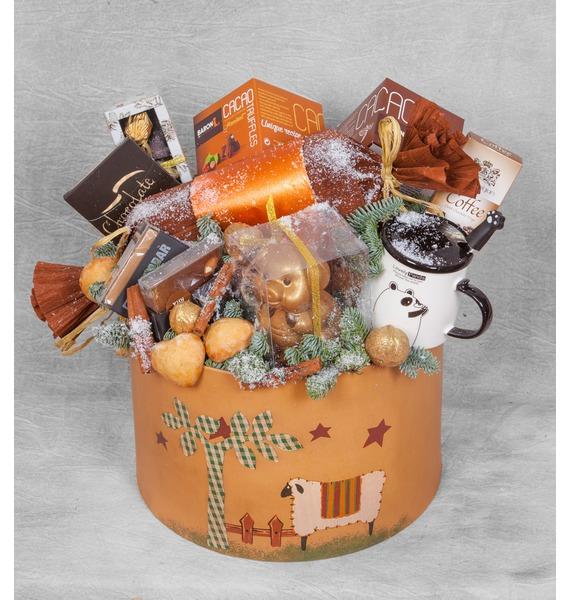 Фото - Подарочная коробка Подарки подарочная мини открытка подарки