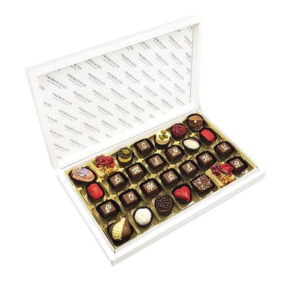 Конфеты ручной работы из бельгийского шоколада С Днем Рождения конфеты марина вес