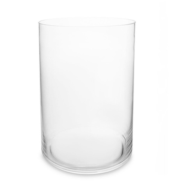 Ваза-цилиндр стеклянная (30 см) vz 281 ваза стеклянная ситец бочка