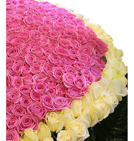 Композиция Импульс любви (501 роза) – фото № 5
