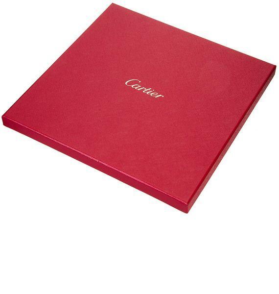 Шелковый платок Цветочный сон Cartier – фото № 2
